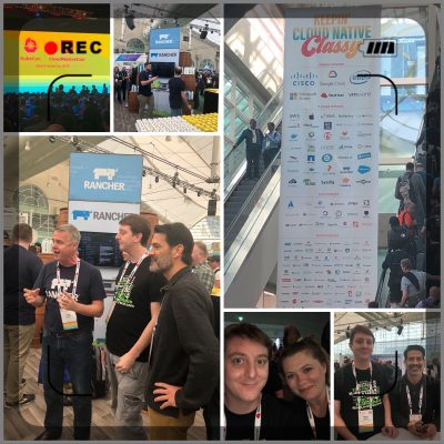 KubeCon Day 1 - 2019 Collage