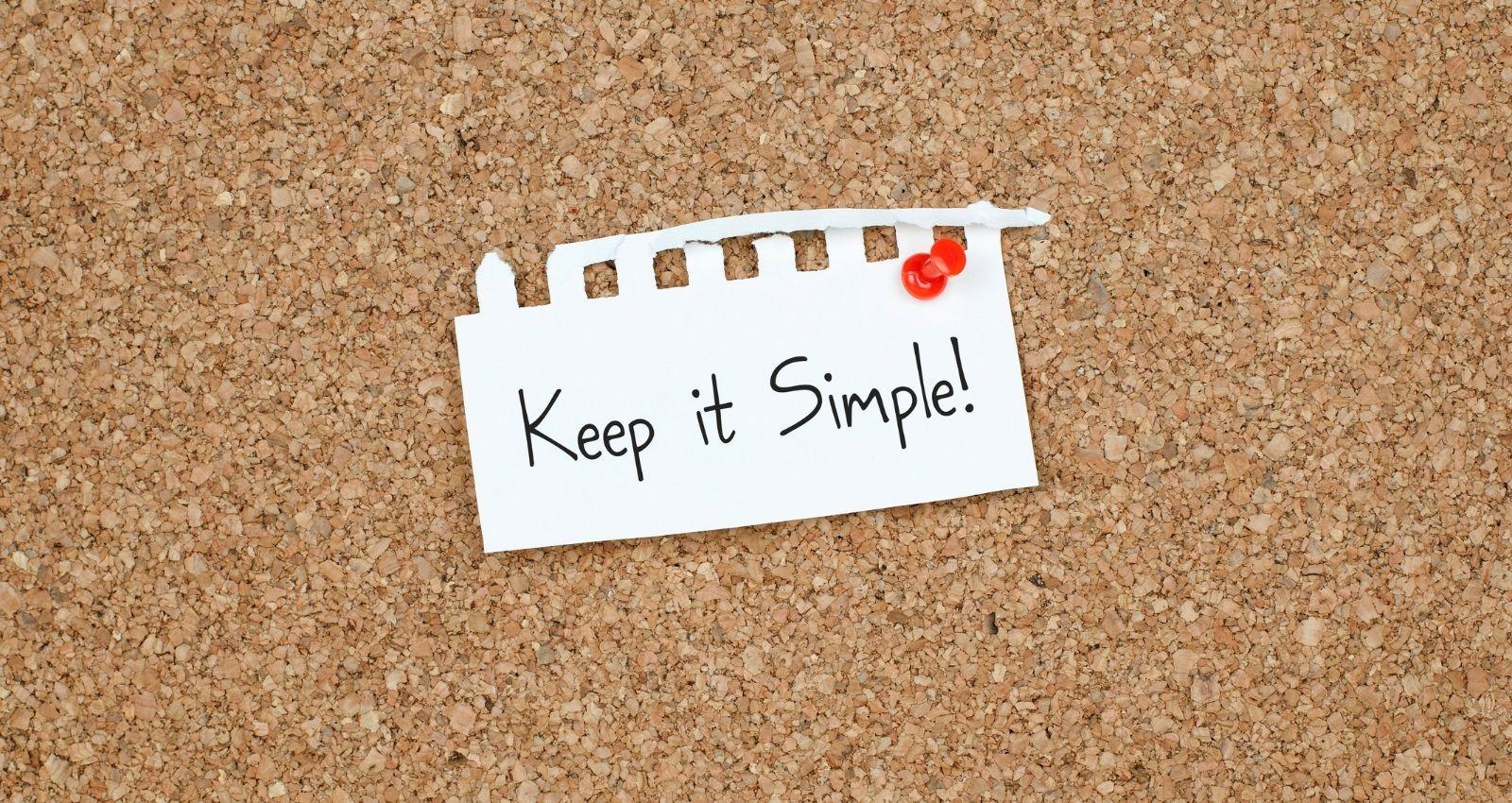 For Simplicity blog